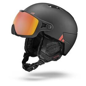 Julbo Globe Ski Helmet, black/red